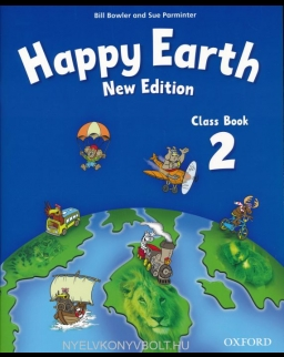 New Happy Earth 2 Class Book