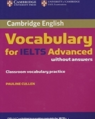 Cambridge English Vocabulary for IELTS Advanced without answers