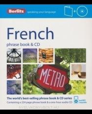 Berlitz French phrase book & CD