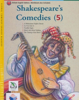 Shakespeare's Comedies (5) with MP3 Audio CD- Global ELT Readers Level B1.2