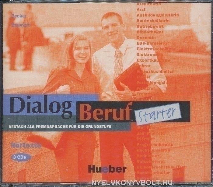 Dialog Beruf starter Hörtexte CD