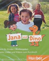 Jana Und Dino 1 Medienpaket 2 Audio-CDs und 1 DVD zum Kursbuch