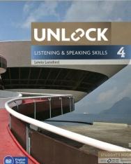 Unlock Listening & Speaking Skills 4 Student's Book with Online Workbook