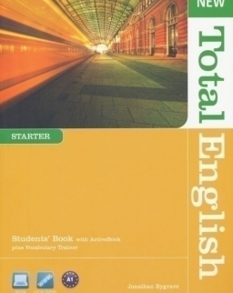 New Total English Starter Students' Book with Active Book DVD