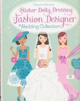 Usborne Sticker Dolly Dressing - Fashion Designer Wedding Collection