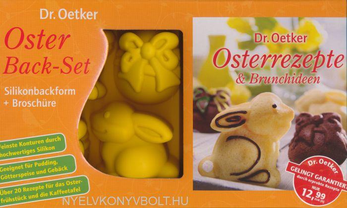 Dr. Oetker Oster Back-Set - Silikonbackform + Broschüre