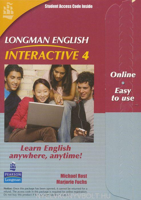 Longman English Interactive 4 British English Online Code Card
