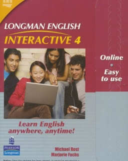 Longman English Interactive 4 British English Online Code Card
