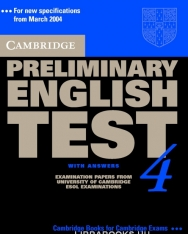 Cambridge Preliminary English Test 4 Official Examination Past Papers 2nd Edition Student's Book with Answers and 2 Audio CDs Self-Study Pack