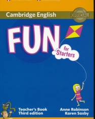 Fun for Starters Third Edition Teacher's Book with Audio