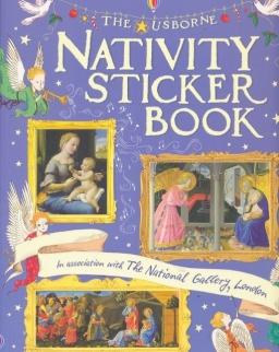 Nativity Sticker Book (Usborne Sticker Books)