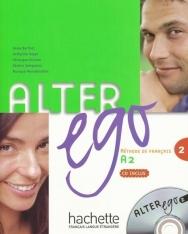 Alter ego 2 - Méthode de Francais niveau A2 Livre de l'éleve avec CD audio