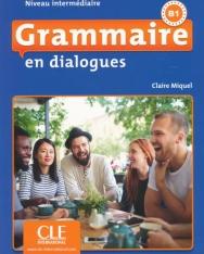 Grammaire en dialogues - Niveau intermédiaire - Livre + CD - 2eme édition