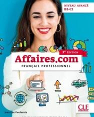Affaires.com - Niveau avancé B2-C1 - Livre de l'éleve - 3eme édition