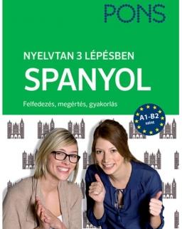 Pons Spanyol nyelvtan 3 lépésben - új kiadás