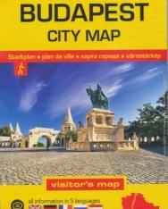 Budapest City Map 1:16000