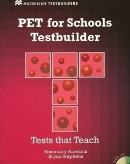 PET for Schools Testbuilder Student's Book with Audio CD