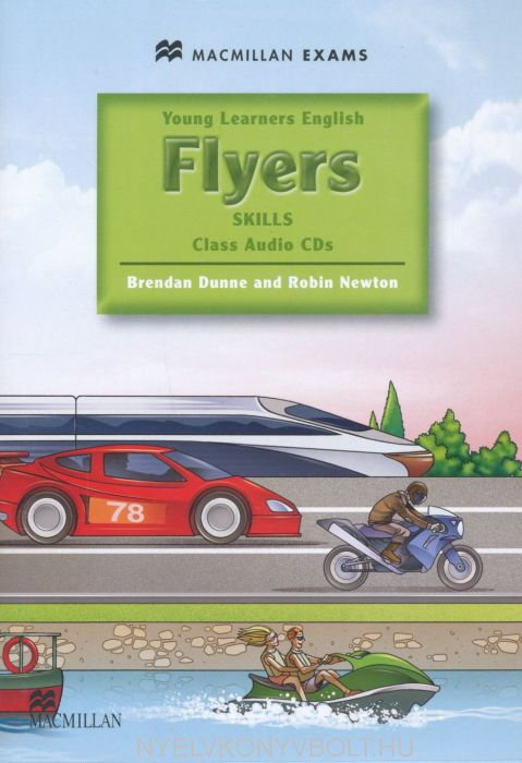 Young Learners English Flyers Skills Class Audio CD - Macmillan Exams