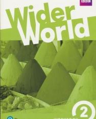 Wider World 2 Workbook with Online Homework Pack