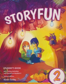 Storyfun 2nd Edition Level 2 (for Starters) Student's Book with Online Activities and Home Fun Booklet