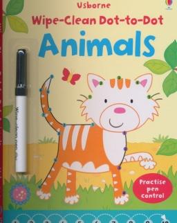 Usborne Wipe-Clean Dot-to-Dot Animals