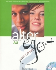 Alter ego + 2 Méthode de francais Livre de l'éléve + CD-Rom + Projects