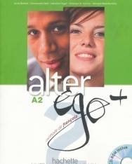 Alter ego + 2 Méthode de francais Livre de l'éléve + CD-Rom + Projects