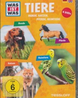 Was ist was: Tiere - Hunde, Katzen, Pferde, Heimtiere DVD(4)