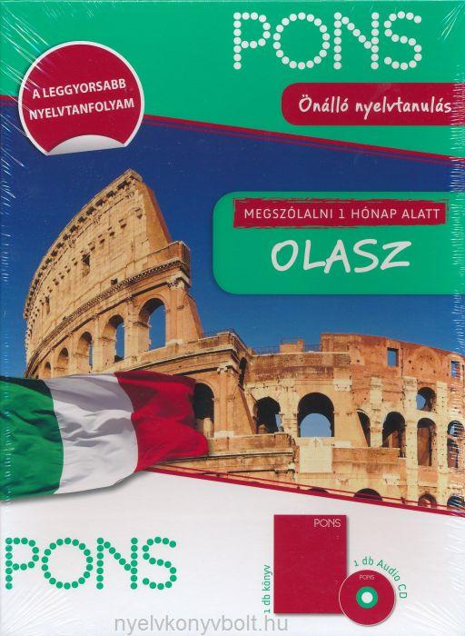 PONS Megszólalni 1 hónap alatt - Olasz - Új Kiadás