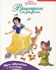 Blancanieves Y Los Siete Enanitos. Libro Educativo Disney Con Actividades Y Pegatinas