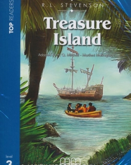 Treasure Island with Audio CD - MM Top Readers Level 3