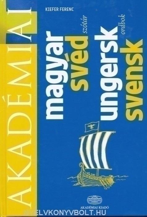 Akadémiai magyar-svéd szótár (Ungersk-svensk ordbok)