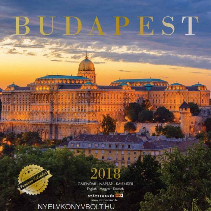 Budapest falinaptár 2018 (30x30)
