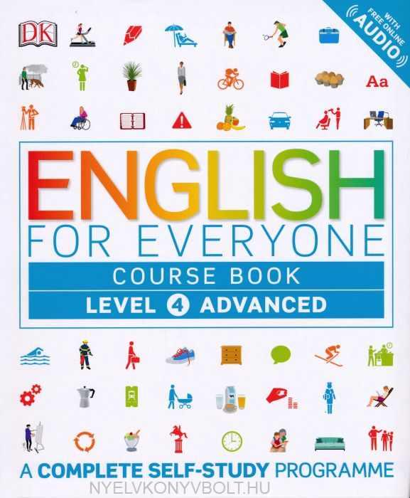 English for Everyone Course Book Level 4 with Free Online Audio - A Complete Self-Study Programme