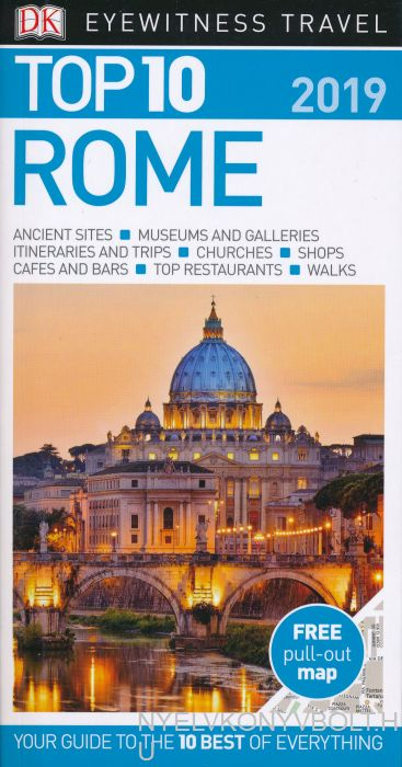DK Eyewitness Travel Guide - Top 10 Rome 2019