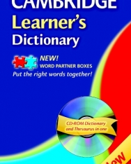 Cambridge Learner's Dictionary with CD-ROM 3rd Edition