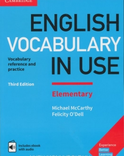 English Vocabulary in Use Elementary - 3rd edition - with answers - includes ebook with audio