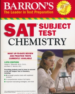 Barron's SAT Subject Test Chemistry 13th Edition