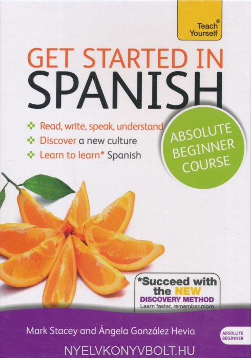 Teach Yourself - Get Started in Spanish from Beginner to Level 3 Book with MP3 Audio CD