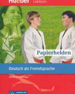 Papierhelden - Hueber Lektüren für Jugendliche Niveau A2