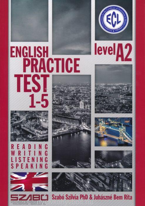 ECL English Practice Test 1-5 Level A2 - Letölthető MP3