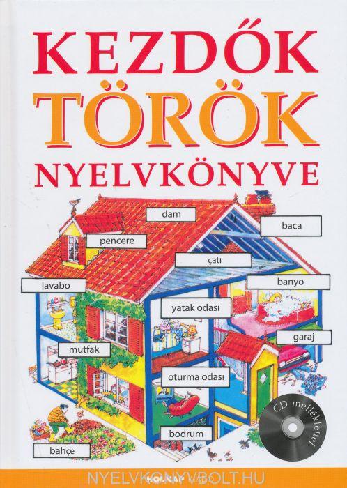 Kezdők török nyelvkönyve CD melléklettel