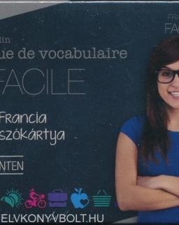 Pratique de vvocabulaire FACILE - 400 francia szókártya haladó szinten