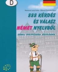 888 kérdés és válasz német nyelvből szóbeli nyelvvizsgára készülőknek (MX-143)