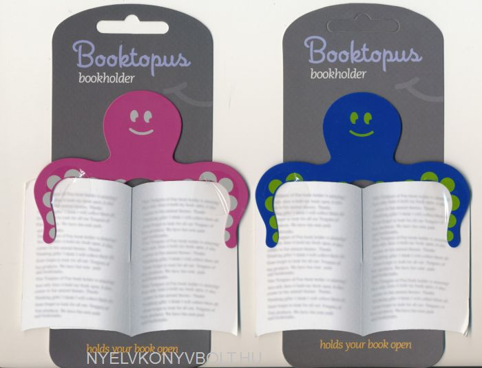 Booktopus - Pink, Blue