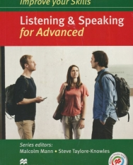Improve Your Skills Listening & Speaking for Advanced Student's Book without Answer Key, with 3 Audio CDs & Macmillan Practice Online