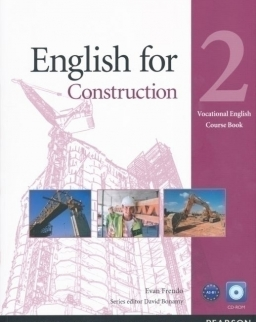 English for Construction - Vocational English 2 Course Book with CD-ROM