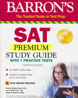 Barron's SAT Premium Study Guide with 7 Practice Tests