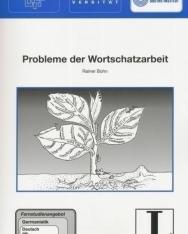 Probleme der Wortschatzarbeit