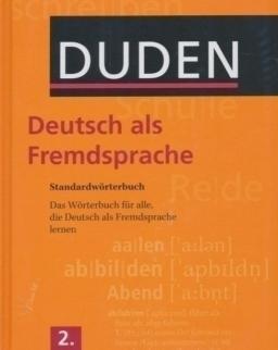 DUDEN Deutsch als Fremdsprache - Standardwörterbuch - Das Wörterbuch für alle, die Deutsch als Fremdsprache lernen